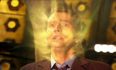 David Tennant regenerates on TV's Doctor Who