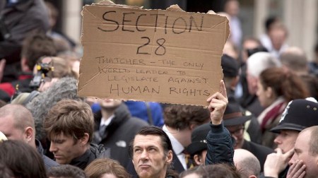 Section 28 Protestor (Unknown)