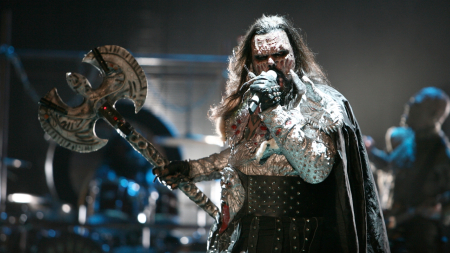 Lordi open up ESC 2007 in Finland
