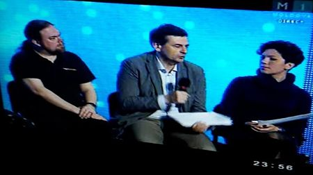 Our Ewan Spence from the ESC Insight team was on stage for the post-final debate show