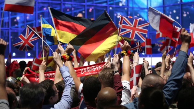The Flags Of All Nations (EBU/eurovision.tv)
