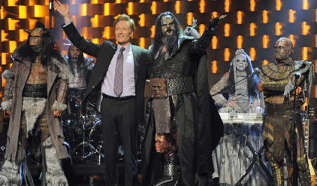 Lordi on Conan