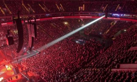 Malmo Arena during Melodifestivalen