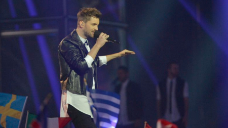 RiskyKidd at Eurovision 2014 (picture: Andreas Putting)