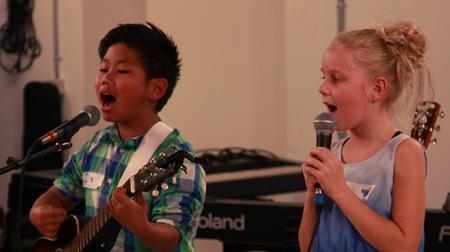 Danish children in their audition round (Source: DR B&U)