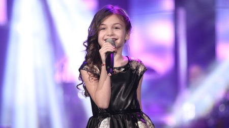Krisia Todorova had the honour of releasing the official song #discover for Junior Eurovision 2015