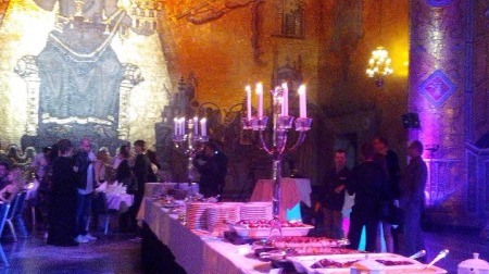 Inside of Stockholm City Hall for the grandeur of the Welcome Party (Photo: Alison Wren)